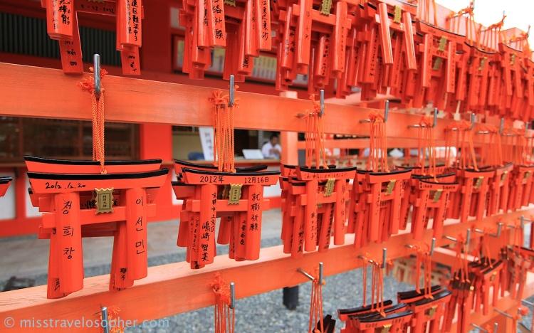 Torii gate ema (Fushimi Inari Taisha, Kyoto)