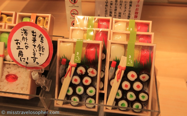 Sushi shaped sweets! Oh so cute!