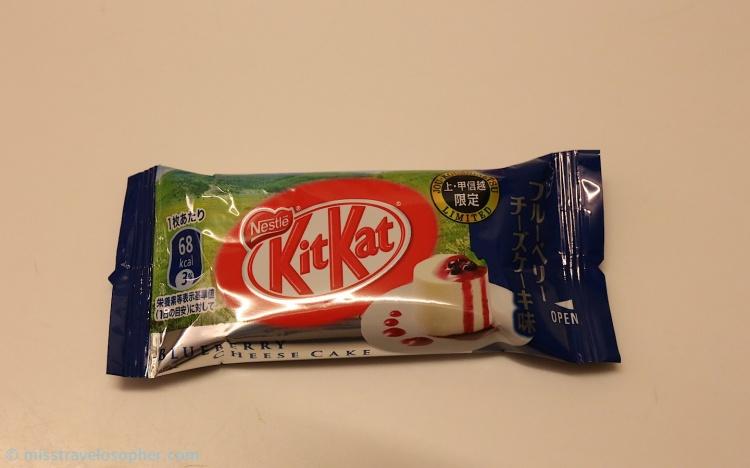 3. Blueberry Cheesecake Flavor - from Koshinetsu (甲信)
