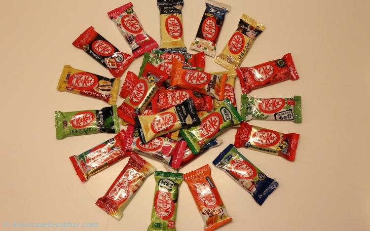 Tadaaa! Regional collection of Japanese Kit Kat