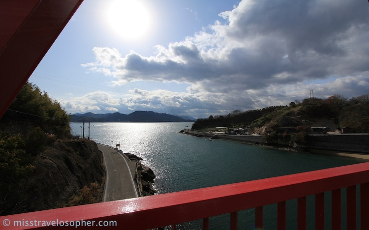 Nevertheless, let's enjoy the beautiful views of the Seto Inland Sea! :)