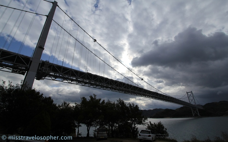 The right one: Innoshima Ohashi bridge!