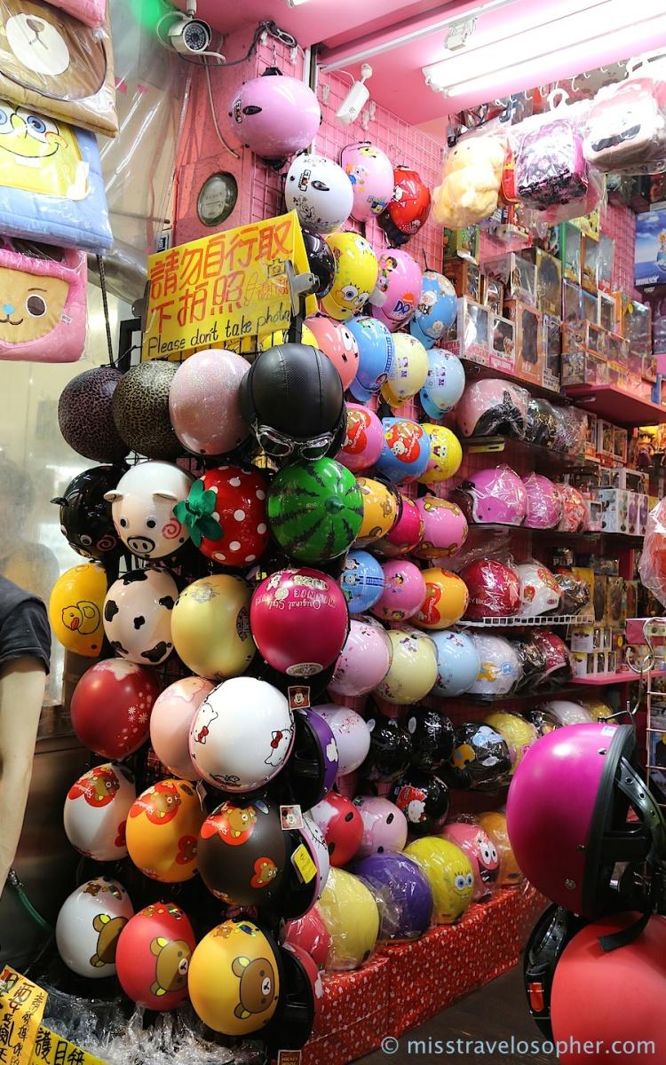 Cute as toys... motorcycle helmets!!