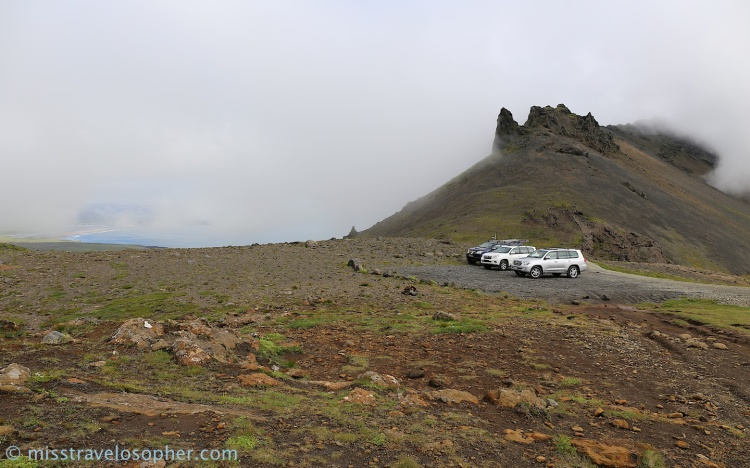 Land cruisers' journey to the centre of the earth - Snæfellsnes