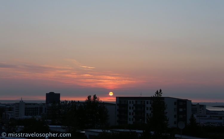 Check this out: Midnight sun in Iceland during summer :)